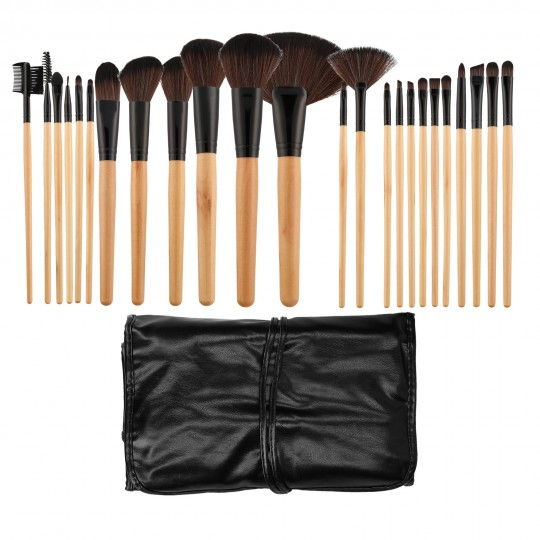MIMO by Tools For Beauty, 24 Pcs Makeup Brush Set