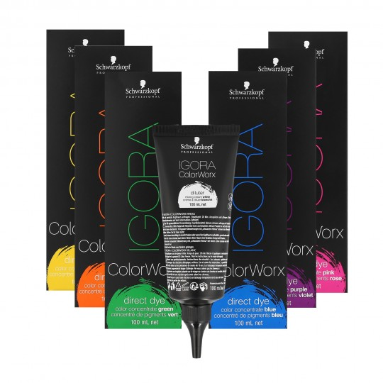 Schwarzkopf Professional Igora ColorWorx Direct Hair Dye Concentrate 100 ml - 1
