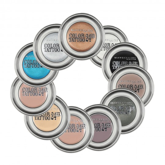 MAYBELLINE EYESTUDIO COLOR TATTOO 24h cream gel eyeshadow 4ml - 1