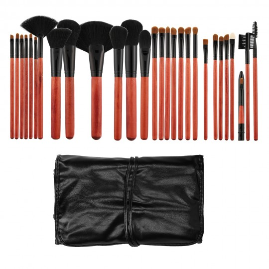 MIMO by Tools For Beauty, 28 Pcs Makeup Brush Set