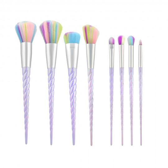 MIMO 8 Pcs Makeup Brush Set, Unicorn