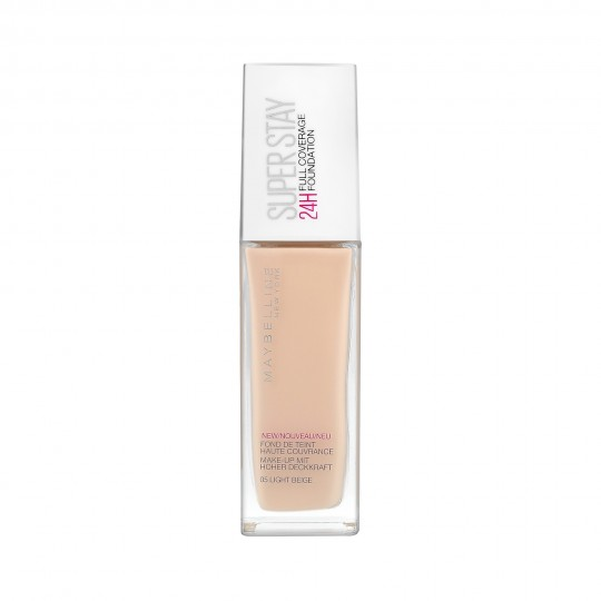 MAYBELLINE Superstay 24h full coverage foundation in 05 Light beige 30ml - 1