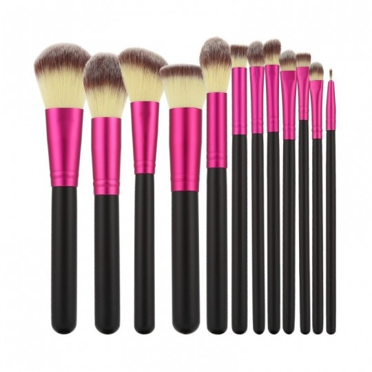 Makeup brushes set 12 pcs