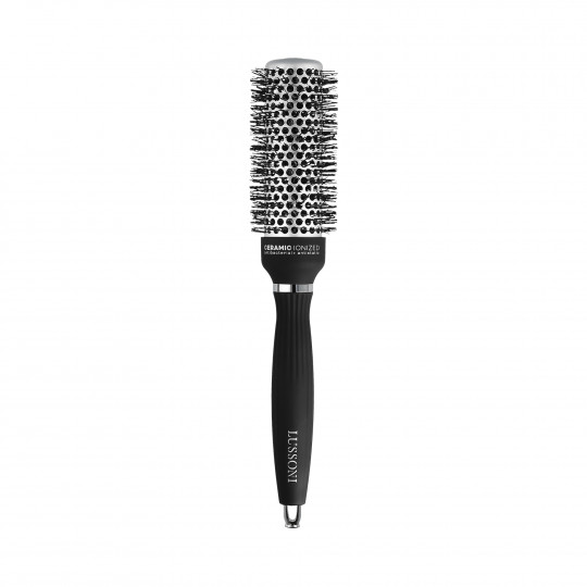 LUSSONI by Tools For Beauty, Styling Brush with Waved Bristles, Ø 33 mm