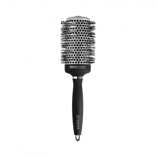 LUSSONI by Tools For Beauty, Styling Brush with Waved Bristles, Ø 53 mm