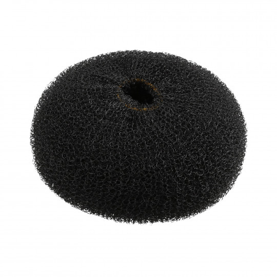 LUSSONI by Tools For Beauty, Hair Bun Ring, Black, Ø 110 mm