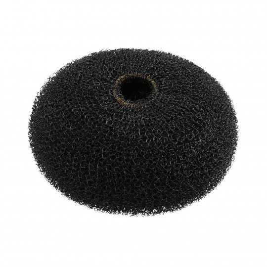 LUSSONI by Tools For Beauty, Hair Bun Ring, Black, Ø 90 mm