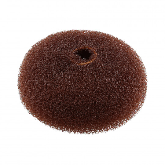 LUSSONI by Tools For Beauty, Hair Bun Ring, Brown, Ø 90 mm