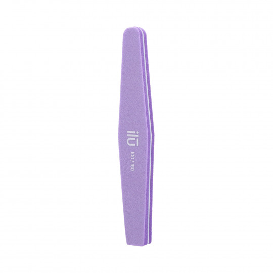 ilū by Tools For Beauty, Nail Buffer, Diamond, 100/180