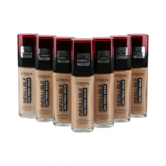 L'OREAL PARIS INFALLIBLE 24H Fresh Wear make-up foundation 30ml - 1