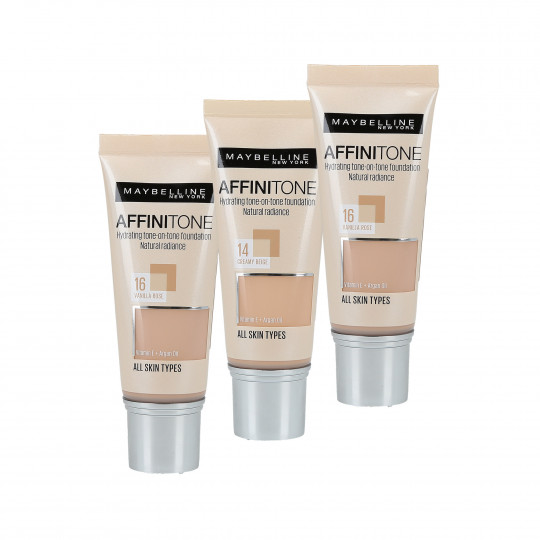 Maybelline Affinitone Perfecting + Protecting Foundation 30 ml - 1