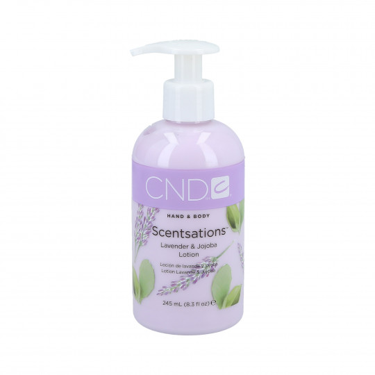 CND Scentsation Lavender & Jojoba hand and body lotion 245ml - 1
