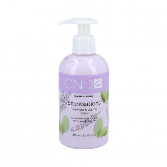 CND Scentsation Lavender & Jojoba hand and body lotion 245ml
