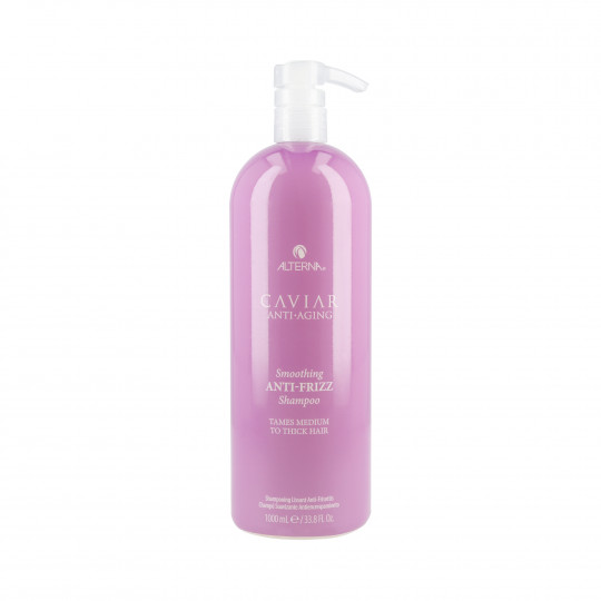 ALTERNA CAVIAR ANTI-AGING SMOOTHING ANTI-FRIZZ Shampoo 1000ml - 1