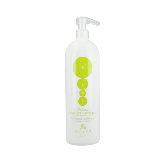 Kallos KJMN Avocado Regenerating shampoo with avocado oil 1000ml - 1