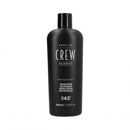 AMERICAN CREW Precision Blend developer oxidant 4.5% (15 vol.) 450ml - 1