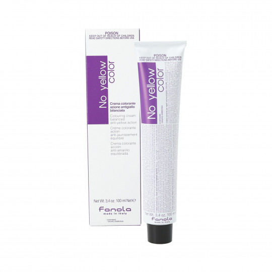FANOLA NO YELLOW COLOR Colour neutralising cream for blonde hair 100ml - 1