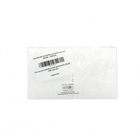 Eko - Higiena Cosmetic tissues perforated roll 25x20 cm (100 pieces)