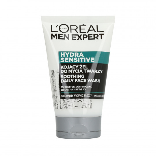 L'OREAL PARIS MEN EXPERT Hydra Sensitive Soothing face wash 100ml - 1