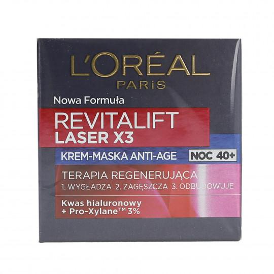 L'OREAL PARIS REVITALIFT LASER X3 Night masque cream 50ml