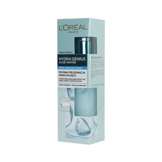 L'OREAL PARIS HYDRA GENIUS Aloe Water Moist Gel for normal and dry skin 70ml - 1