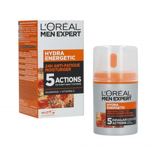 L'Oreal Paris Men Expert Hydra Energetic Moisturising Cream 50ml - 1