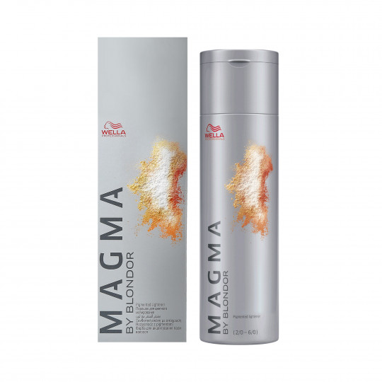 WELLA PROFESSIONALS MAGMA Pigmented lightener Natural Brown Intense 120ml