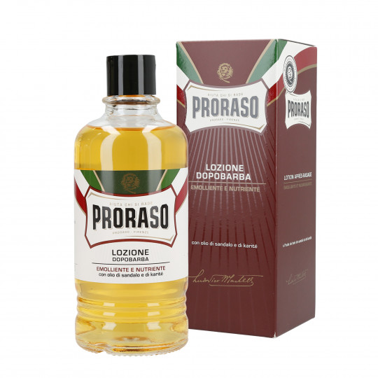 PRORASO RED Nourishing aftershave balm 400ml
