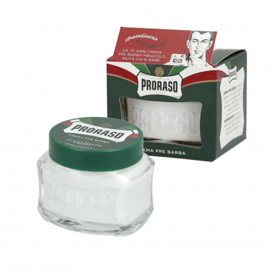 PRORASO GREEN Refreshing pre-shaving cream 100ml