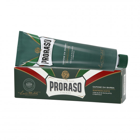 PRORASO GREEN LINE SHAVING SOAP IN A TUBE 150ML