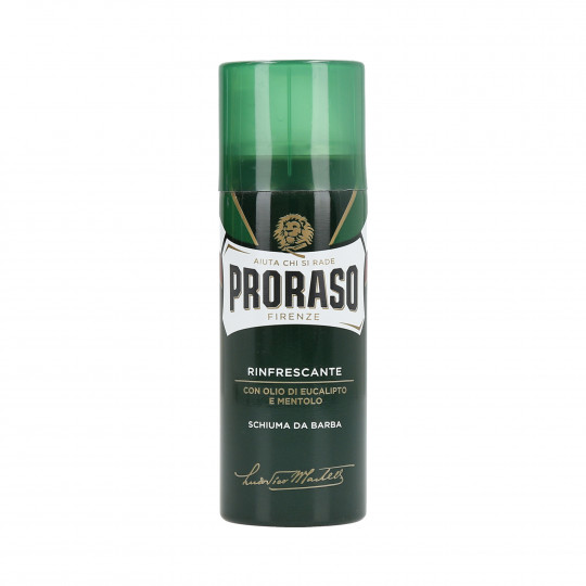 PRORASO GREEN Schiuma da barba shaving foam 50ml