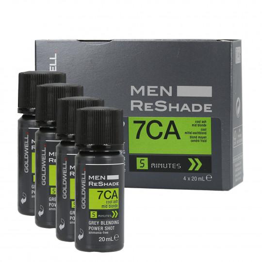 GOLDWELL MEN RE-SHADE 7CA 4x20ml - 1