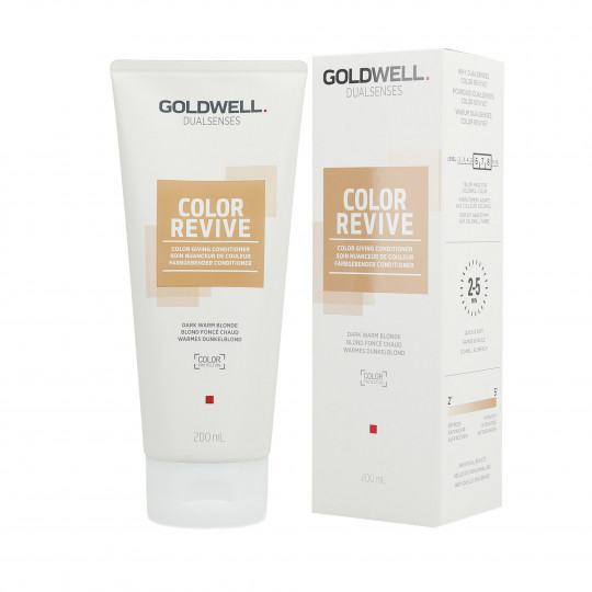 GOLDWELL DUALSENSES COLOR REVIVE Conditioner Dark Warm Blonde 200ml