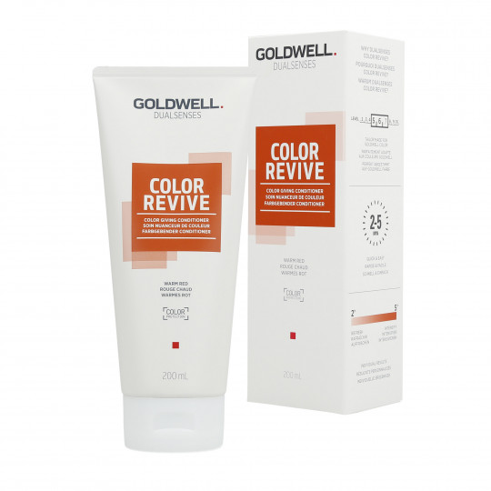 GOLDWELL DUALSENSES COLOR REVIVE Conditioner Warm Red 200ml