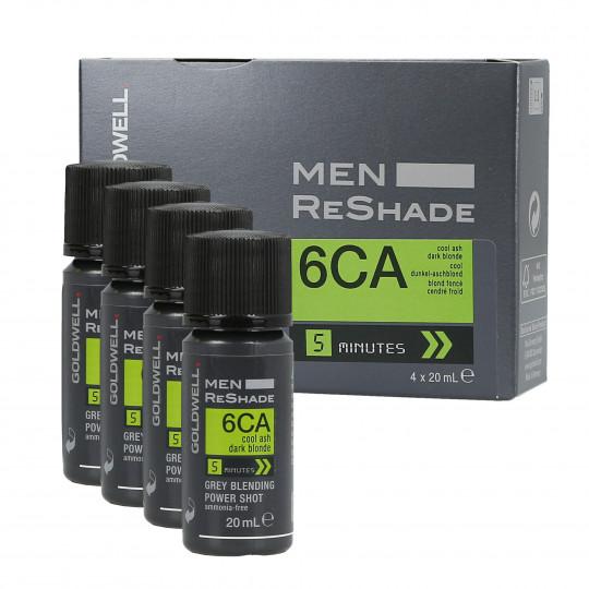 GOLDWELL MEN RE-SHADE 6CA 4x20ml - 1