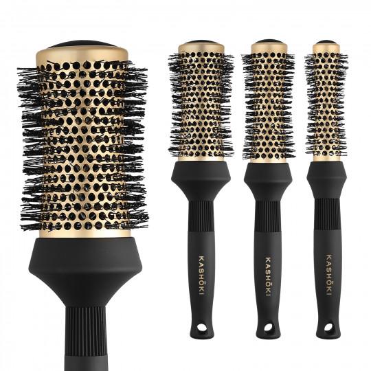 Kashōki by Tools For Beauty, Timeless Beauty 4 Pcs Round Brush Set