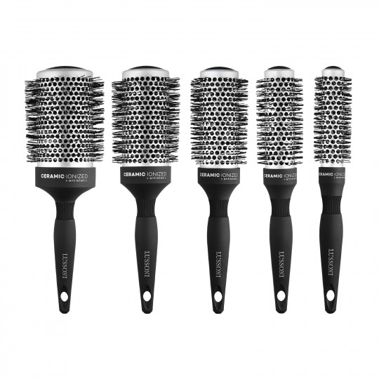 LUSSONI by Tools For Beauty, Care&Style - 5 Pcs Professional Round Brush Set
