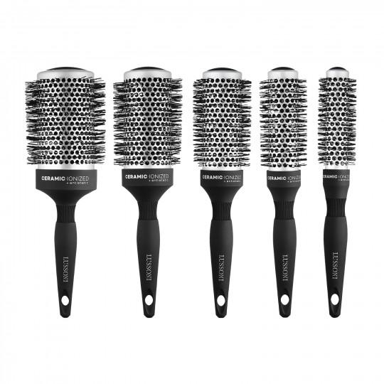 LUSSONI Care&Style 5 Pcs Professional Round Brush Set