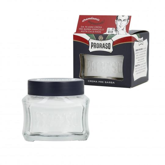 PRORASO BLUE Moisturising shave cream 100ml