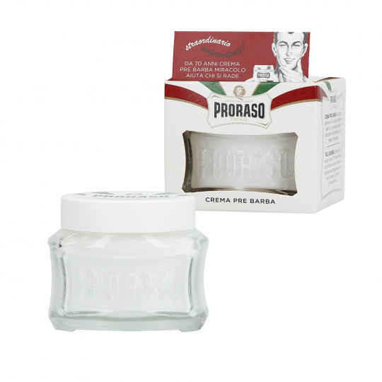 PRORASO WHITE Soothing Pre-shaving Cream 100ml - 1