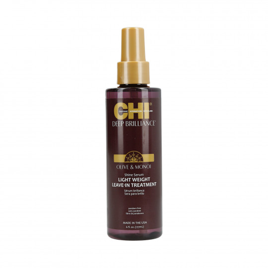 CHI DEEP BRILLIANCE Olive & Monoi Lightweight leave-in treatment 177ml - 1