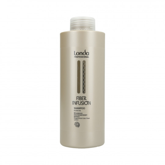 LONDA FIBER INFUSION Regenerative shampoo with keratin 1000ml - 1