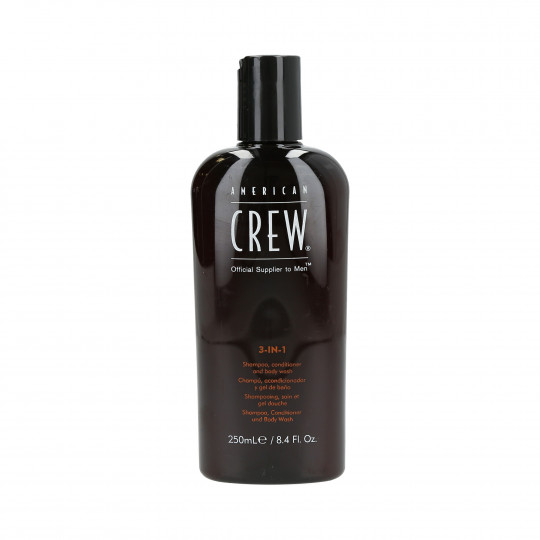 AMERICAN CREW Hair shampoo, conditioner and shower gel 3in1 250ml - 1