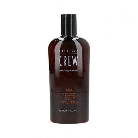 AMERICAN CREW Hair shampoo, conditioner and shower gel 3in1 450ml - 1