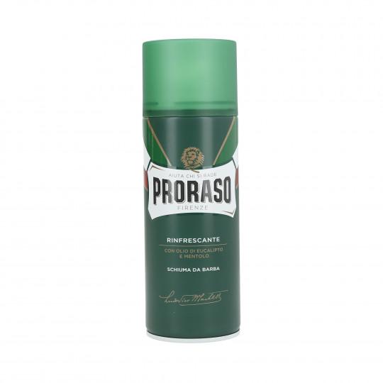 PRORASO GREEN Refreshing Shaving Foam 400ml