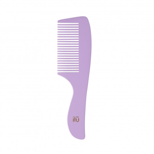 ilū by Tools For Beauty, Bamboo Comb – Wild Lavender - 1