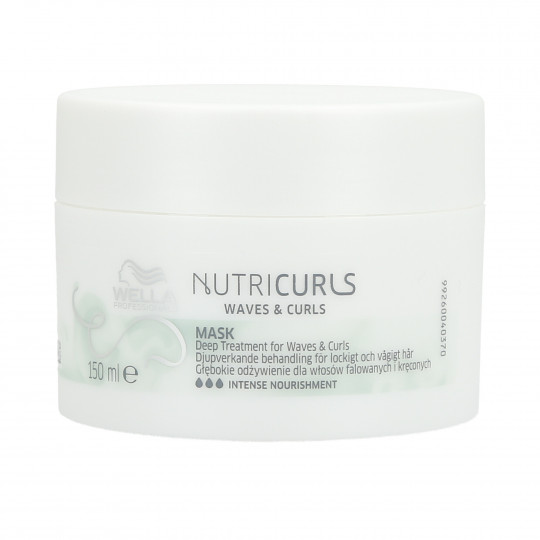 WELLA PROFESSIONALS NUTRICURLS Hair Mask for Curls and Waves 150ml - 1
