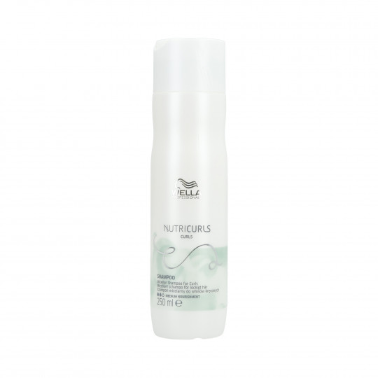 WELLA PROFESSIONALS NUTRICURLS Shampoo for Curly Hair 250ml - 1