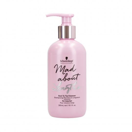 BC MAD ABOUT LENGTHS ROOT TO TIP CLEANSER 300ML