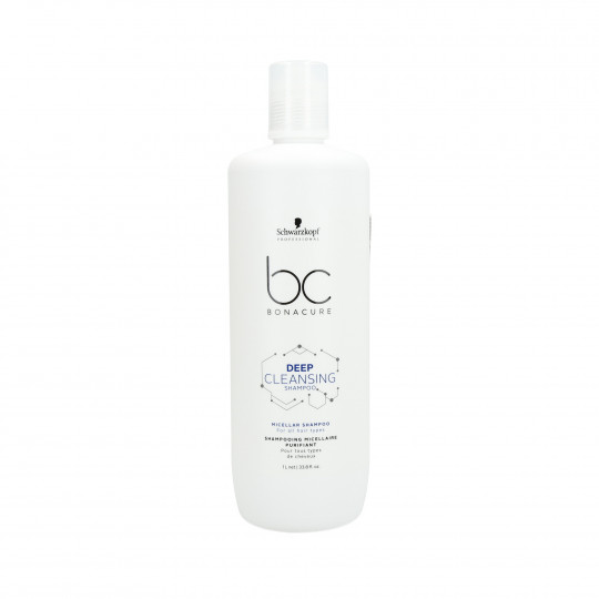 SCHWARZKOPF PROFESSIONAL BC DEEP CLEANSING Shampoo 1000ml - 1
